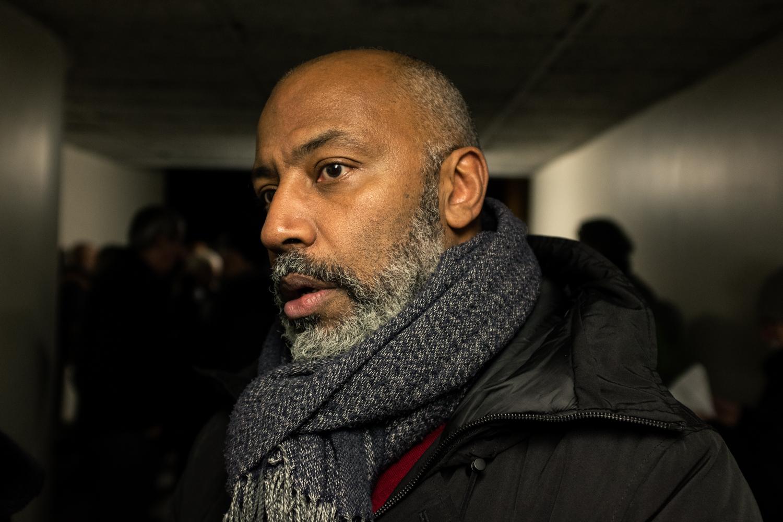 Christian-David Meslé, metteur en scène au théâtre de Ménilmontant