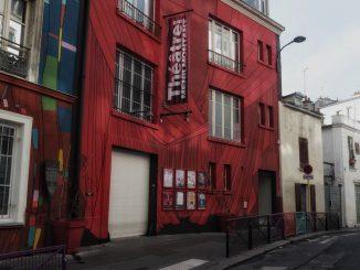 théâtre de Ménilmontant-façade